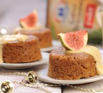 Puddingi figowo-orzechowe: przepis na słodką sylwestrową przekąskę
