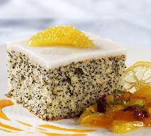 Biszkopt białkowy z makiem do tortów