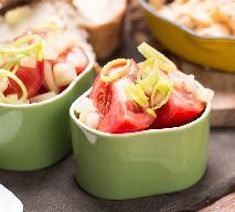 Codzienna surówka z pora i pomidorów