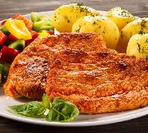 Łatwe schabowe z brązowym cukrem z piekarnika, patelni lub grilla