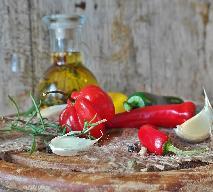 Kozi ser z grilla z papryczką chilli