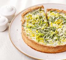 Tarta z porami - przepis na smaczne, wytrawne ciasto
