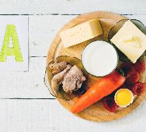 Witamina A - w jakich produktach spożywczych znajduje się witamina A?