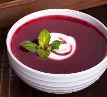 Zupa krem z buraków z imbirem i sokiem pomarańczowym: przepis na zdrowie