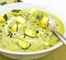 Zupa cukiniowa - przepis na zupę krem z cukinii