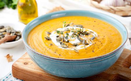 Zupa z dyni piżmowej z chrzanem [DETOKS I OCZYSZCZANIE]