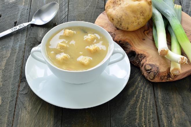 Zupa z porów na piwie - oryginalna odmiana codziennej zupy