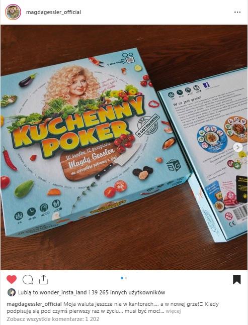 Kulinarny Poker, gra planszowa z Magdą Gessler