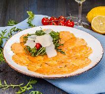 Carpaccio z łososia - przepis na wykwintną przystawkę