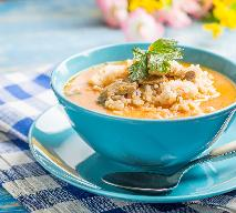Zupa pomidorowa na żołądkach drobiowych z ryżem [WIDEO]