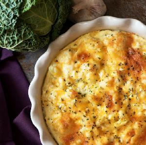 Włoska kapusta zapiekana z gorgonzolą - pyszne i łatwe danie dla zaradnych