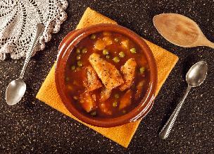 Gulasz rybny z groszkiem - świetny sposób na rybę!