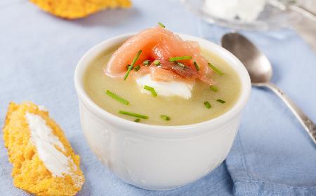 Zupa serowo-łososiowa - pyszny pomysł na obiad