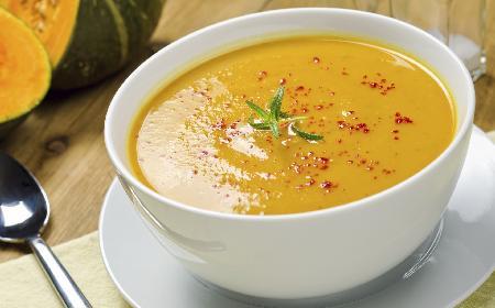Słoneczna zupa - przepis na zupę dla dziecka