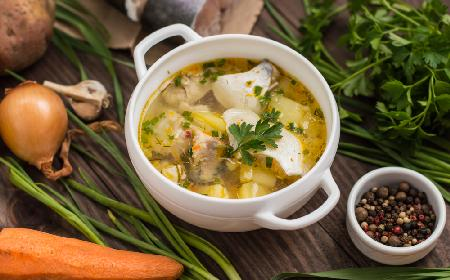 Łatwa zupa rybna z filetów - przepis na Wigilię