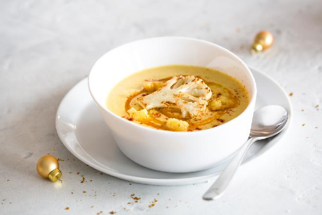 Obłędna zupa kalafiorowa na rozgrzewkę
